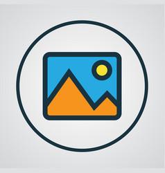 Image colorful outline symbol premium quality vector