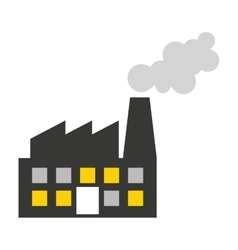plant factory building icon vector image