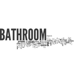 Bathroom from over the moon part one text word vector