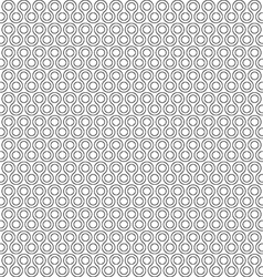 Twist little rounds seamless pattern vector