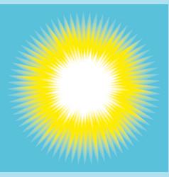 Concept sun abstract background vector