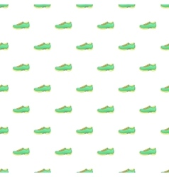 Men sneakers pattern cartoon style vector