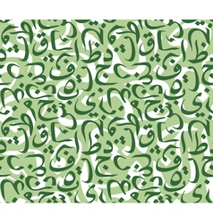 Arabic style pattern vector image vector image