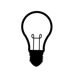 Bulb idea innovation ilumination creative vector