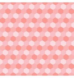 Hexagonal mosaic vector image vector image