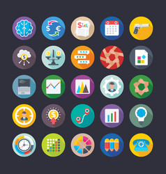 Business and office icons 15 vector