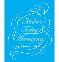 Inspirational and encouraging quote design vector