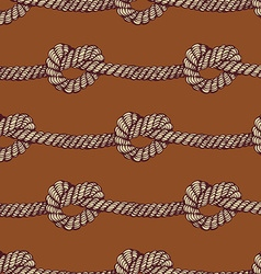 Knot seamless pattern vector