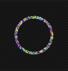 colorful round shape vector image