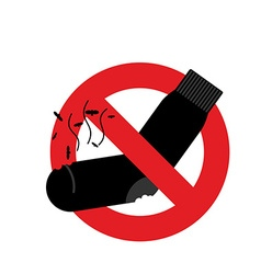 Ban dirty smelly socks mark is prohibited vector