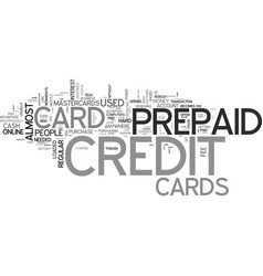 A credit free card what is a prepaid credit card vector