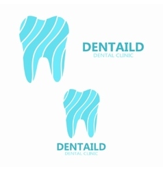 Healthy tooth logo dental clinic logo vector