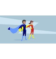 Heroes vector image