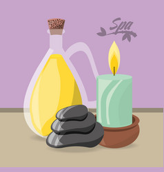 spa products to health care skin vector image