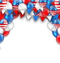 American traditional celebration background for vector