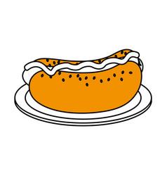 junk food design vector image vector image