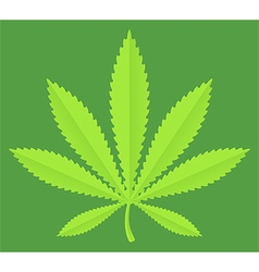 Marijuana pot leaf vector