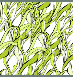 Leaves pattern vector