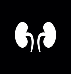 Kidneys symbol vector