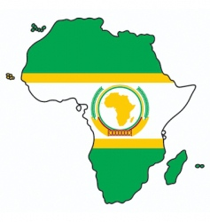 african union vector image