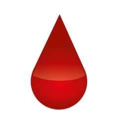 Drop icon Blood design graphic vector image