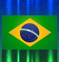 Brazil flag design vector