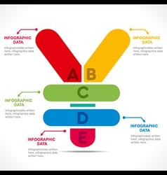 Creative yen currency symbol info-graphics design vector