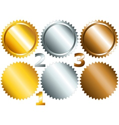 Games medals or labels-set1 vector