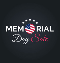 happy memorial day sale cardnational vector image vector image