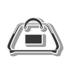 Gym bag accessory vector