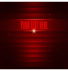 Abstract red technology background vector image