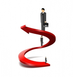 career success vector image vector image