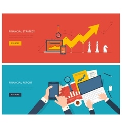 Flat design modern concept of vector