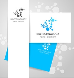 Biotechnology logo vector