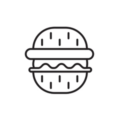 Barbeque party icon vector image vector image