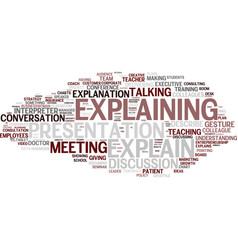 Explain word cloud concept vector