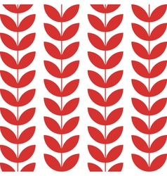 Flower pattern seamless background vector image vector image