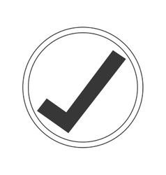 Ok right correct icon vector