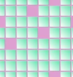 Rectangular geometric seamless pattern vector image vector image