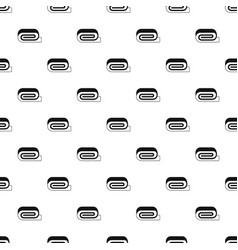 Spa towel pattern vector