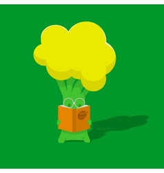 Broccoli student vector
