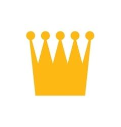 Flat icon on white background british crown vector