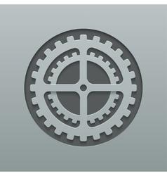 Modern mechanism background design vector