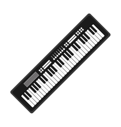 Piano music instrument vector