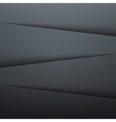 Dark grey paper layers abstract background vector
