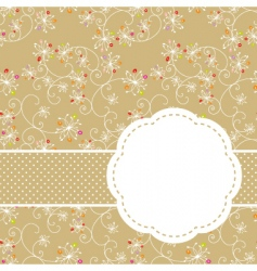 springtime seamless vector image