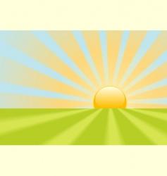 Sun rays vector