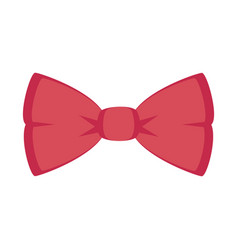 Bowntie ribbon isolated icon vector