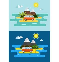island2 vector image vector image