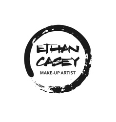 Makeup artist design logo template vector
